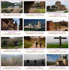 32 vidéos du camino francés